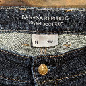 Banana Republic Women's 14 Jeans Boot Cut